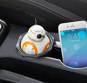 Star Wars Animated BB-8 USB Car Charger