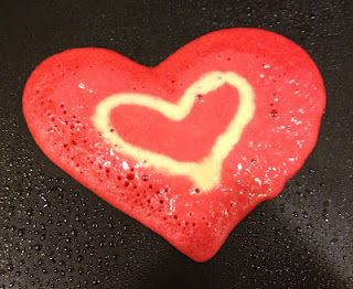Fun & easy heart themed breakfast ideas to make for Valentine's Day!