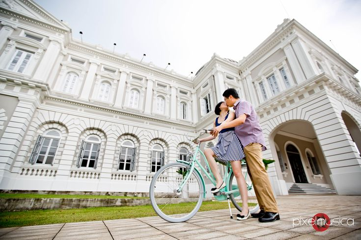 Singapore Wedding Photography, Pre-wedding Photography, National Museum of Singapore