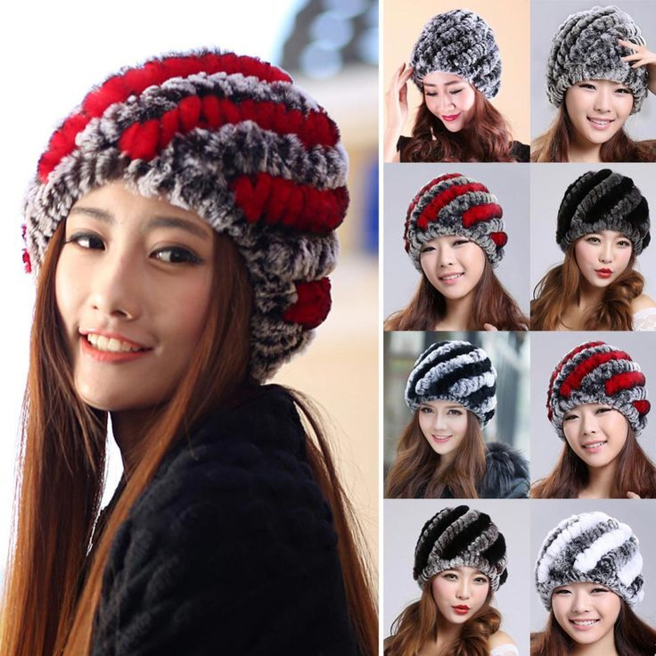 $7.09 (Buy here: https://alitems.com/g/1e8d114494ebda23ff8b16525dc3e8/?i=5&ulp=https%3A%2F%2Fwww.aliexpress.com%2Fitem%2FFashion-2016-Russian-Women-Thick-Warm-Hat-Stripe-Knitted-Fur-Cap-Natural-Rex-Rabbit-Fur-Hats%2F32745688938.html ) Fashion 2016 Russian Women Thick Warm Hat Stripe Knitted Fur Cap Natural Rex Rabbit Fur Hats Women Beanies Skullies Headgear for just $7.09