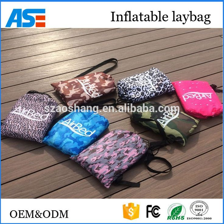 Small Sectional Sofa Top sales inflatable punching bag for adults Single mouth opening sleeping bag Ripstop nylon lazy bag sofa with Securing stake
