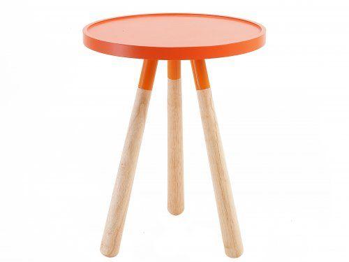 Orange Orbit Table