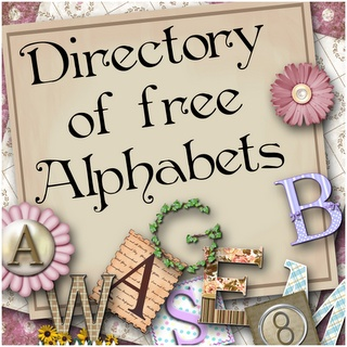 Free digital printables of Alphabets ~j