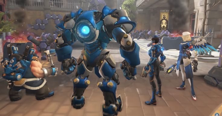 Today's 'Overwatch' co-op mode pits players against hordes of robots