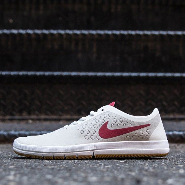 Nike Free Sb Nano Summit White Gym Red Shoes