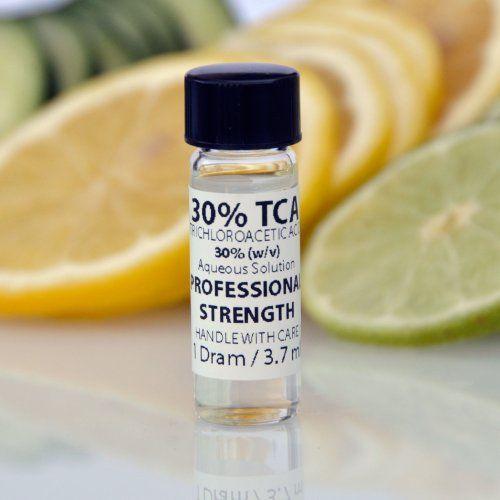 30 wv tca trichloroacetic acid skin peel tattoo