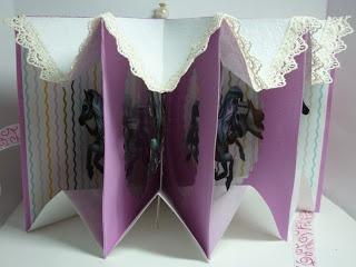 carousel card book