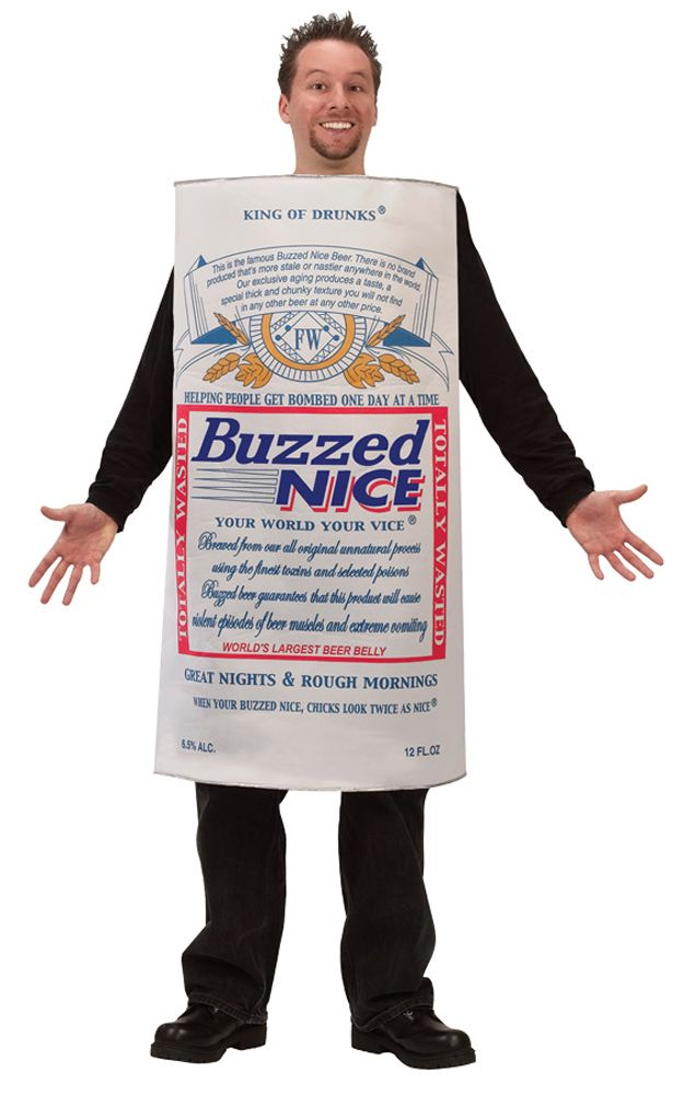 Nice Costumes Buzzed Nice Beer Costume just added...