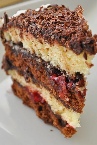 Grand Marnier Chocolate Truffle Cake
