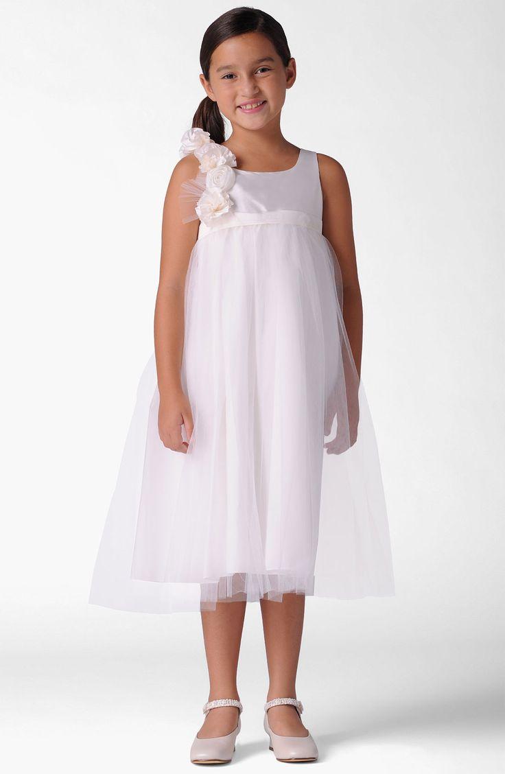 10 best flower girl dress images on Pinterest | Bridesmaids, Dresses ...