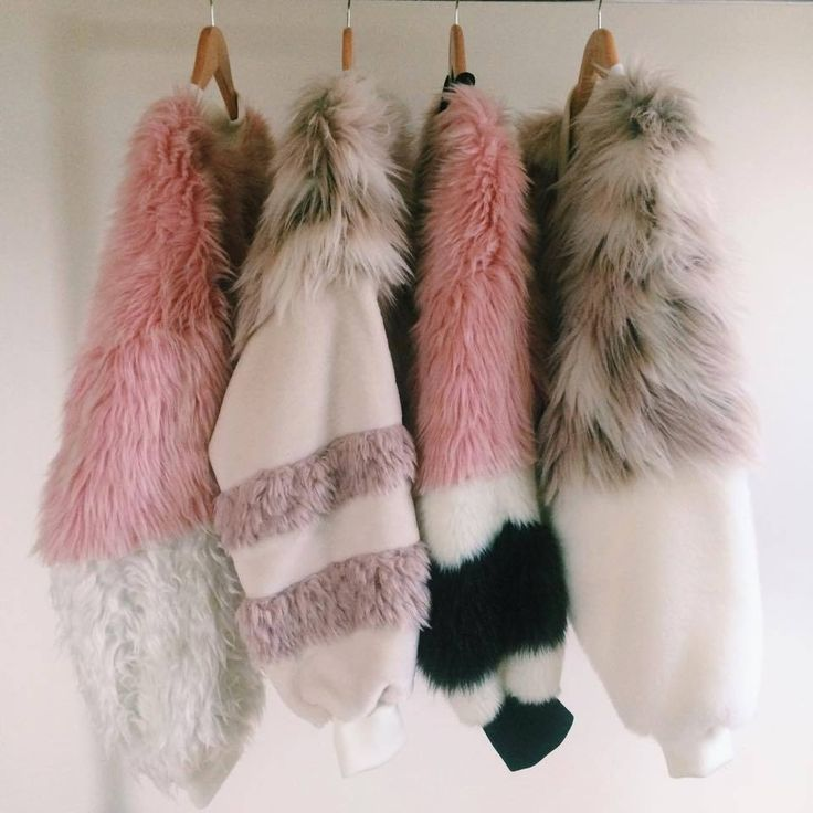 Faux Fur Bomber Jackets
