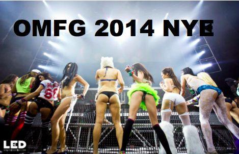 My OMFG San Diego New Years #rave #omfg2014 #NYE # ...