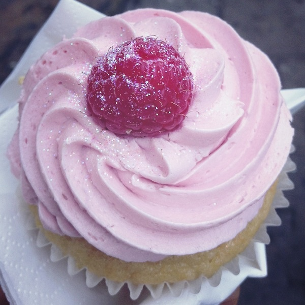Greenwich Markets: Vegan cupcake