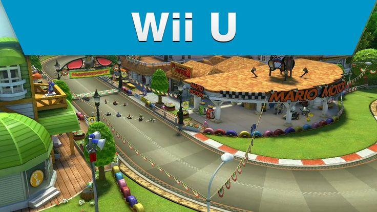 Wii U - Mario Kart 8 - Yoshi Circuit  http://www.videogamingvault.com/nintendo.html  #mariokart #videogame #trailer