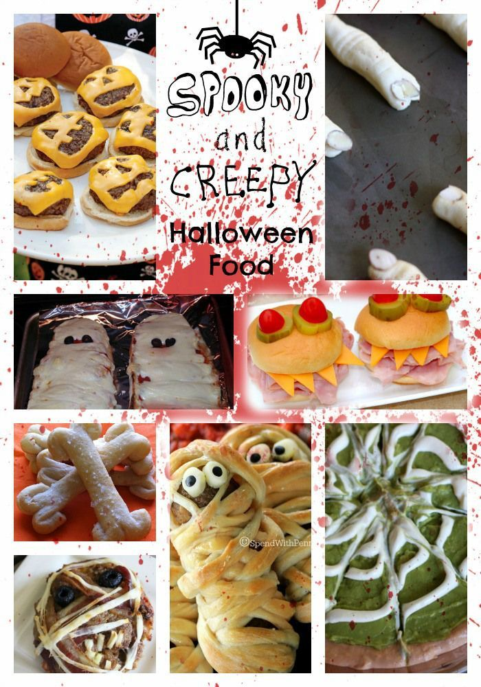 Spooky and Creepy Halloween foods