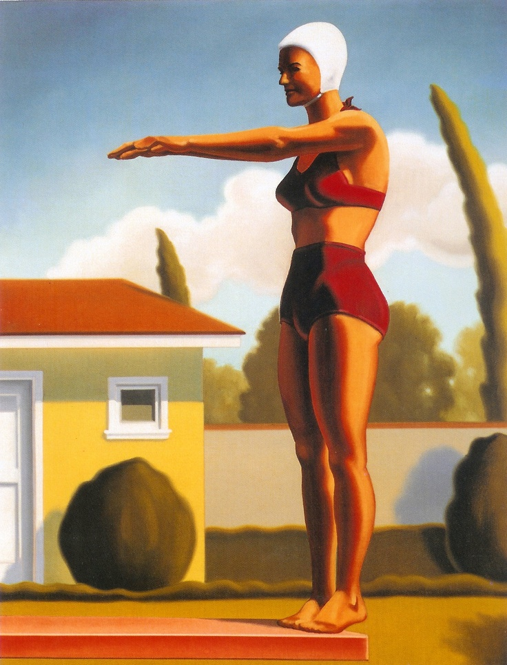 R. Kenton Nelson Swim Party