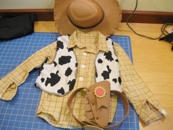handmade Woody Toy Story costume with Disney by hollymessinger, $100.00