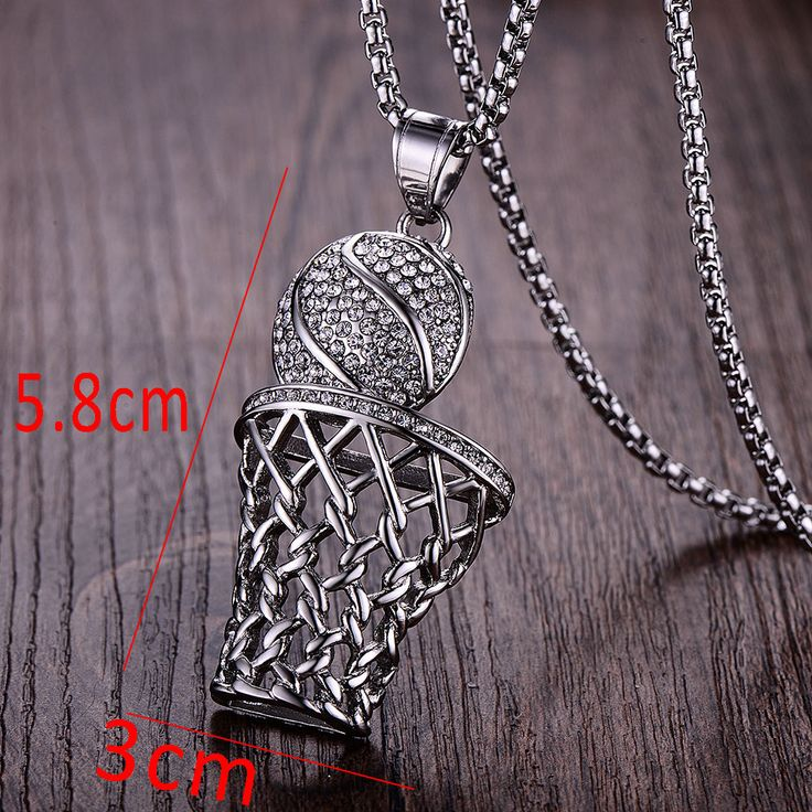 Best 25 gold pendants for men ideas on pinterest personalized wawfrok fashion men basketball pendants necklaces gold stainless steel sports necklace for men jewelry click aloadofball Images