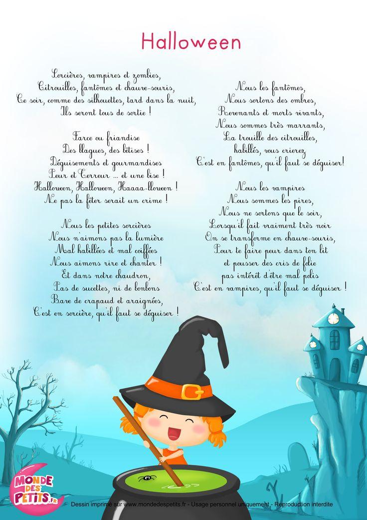 Paroles_Halloween - Chanson pour enfants