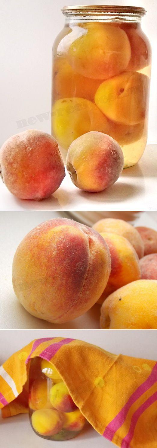Персиковый компот на зиму. Компот из персиков на зиму. Персики консервированные рецепт   Кулинарные рецепты приготовления блюд с фото, новые рецепты с фотографиями