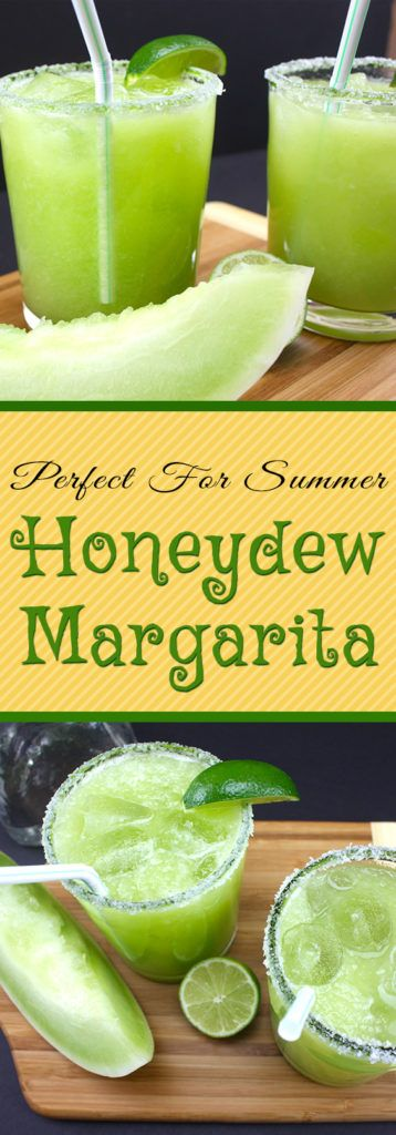 Honeydew Margaritas - A fresh, crisp twist on the classic margarita. Perfect for…