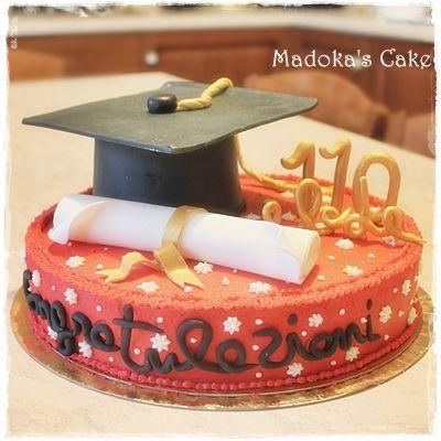 graduation cake torta di laurea