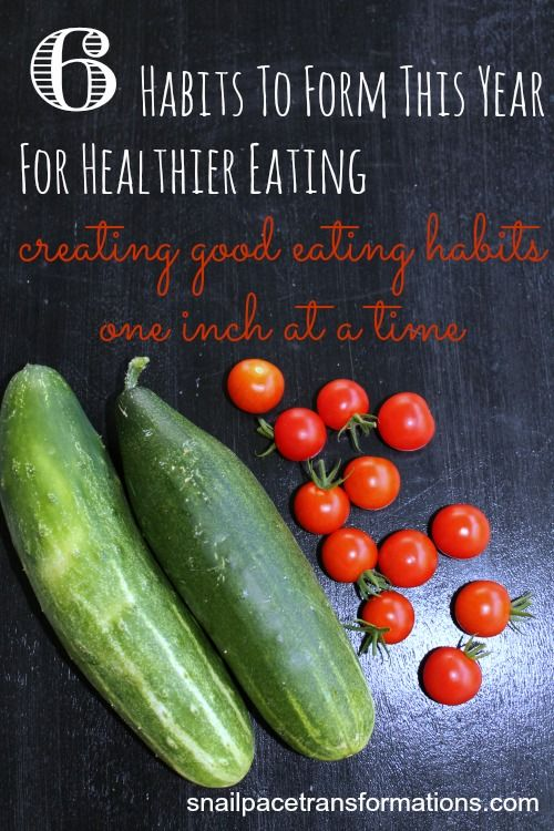 A step by step plan to create healthy eating habits that stick.