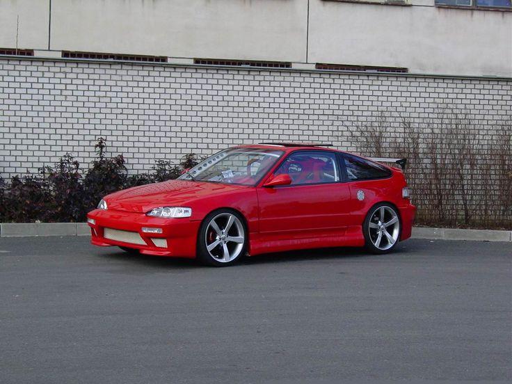 Red Honda Jackson Turbo CRX