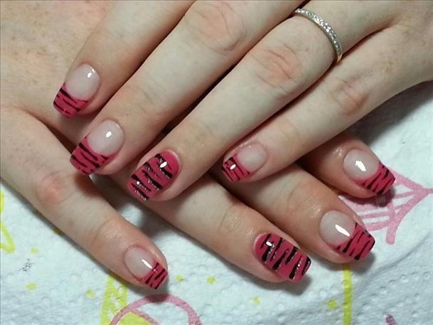 Die besten 25 tiger stripe nails ideen auf pinterest tiger tiger stripes nails image prinsesfo Image collections