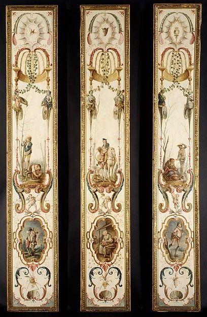 Follower of Antoine Watteau | November and December (part of a set illustrating the months of the year) | French | The Met