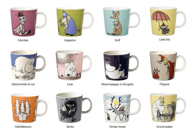 Moomin mug at twentytwentyone