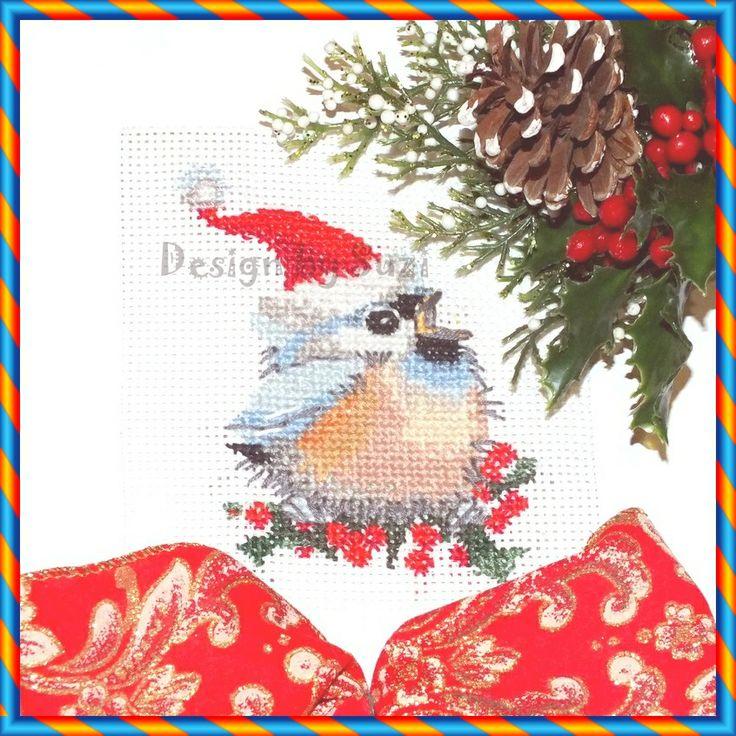 ❆ 4. adventná nedeľa: Vtáčik ❆ (Valerie Pfeiffer: Christmas Chick)