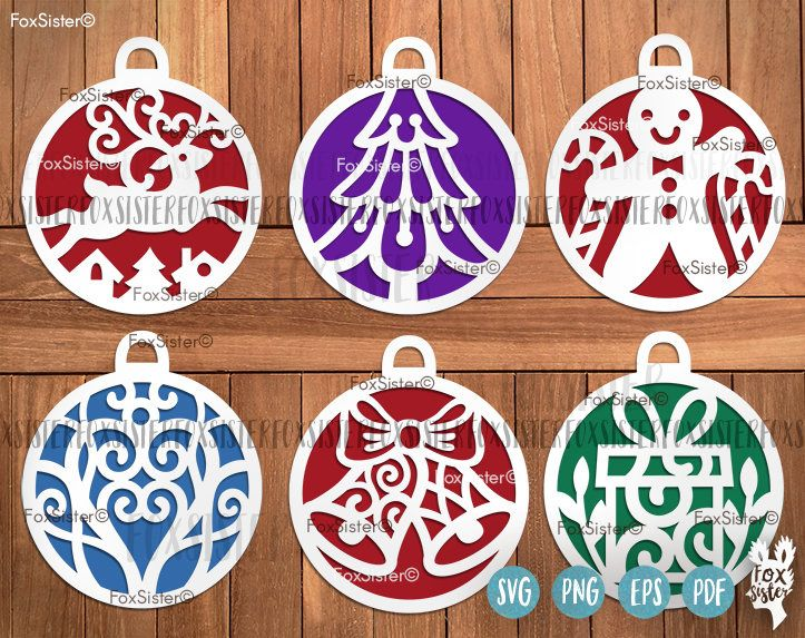 Christmas Baubles SVG Bundle SET 2 | Bauble, Tree, Gingerbread Man svg | Reindeer cut files | Christmas Svg | vinyl decal Winter | Cricut For personal and commercial use. -------------------------------------------------------------------------------------------------- Other BIG SVG Bundles