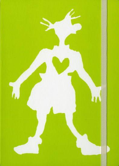 Carnet élastique Agrippine vert #renaudbray #vert #green #livre #book #artdevivre #artofliving #inspiration #papeterie #cahier #notebook