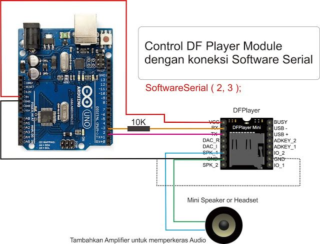DF Player Serial mp3 player for Arduino Audio Project