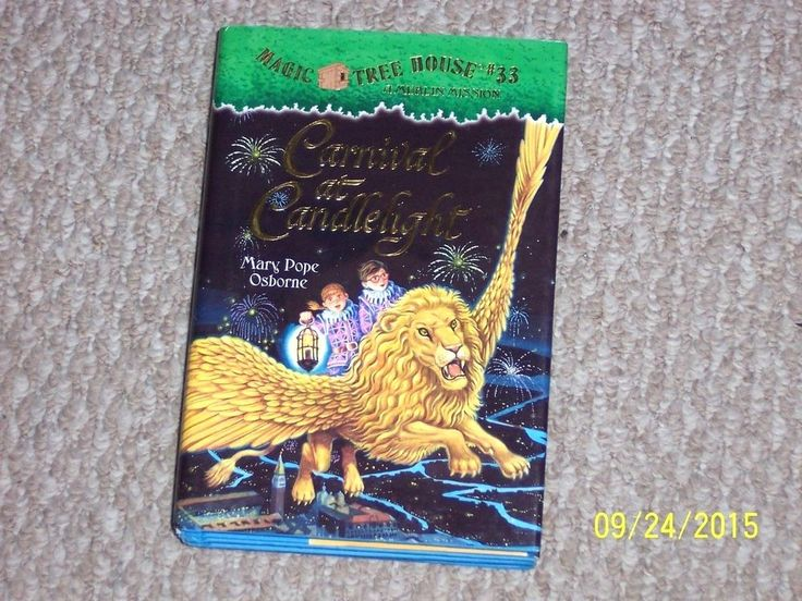 Magic Tree House Merlin Mission~Carnival at Candlelight~Mary Pope Osborne