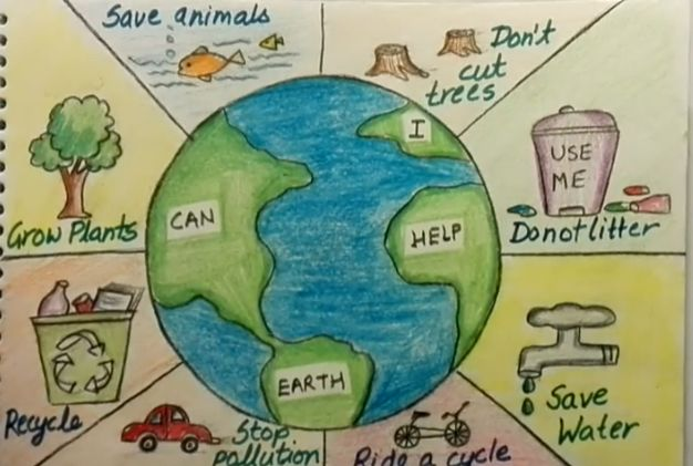 Pin By Mahogony Mathis On Please Help Earth Day Drawing Save