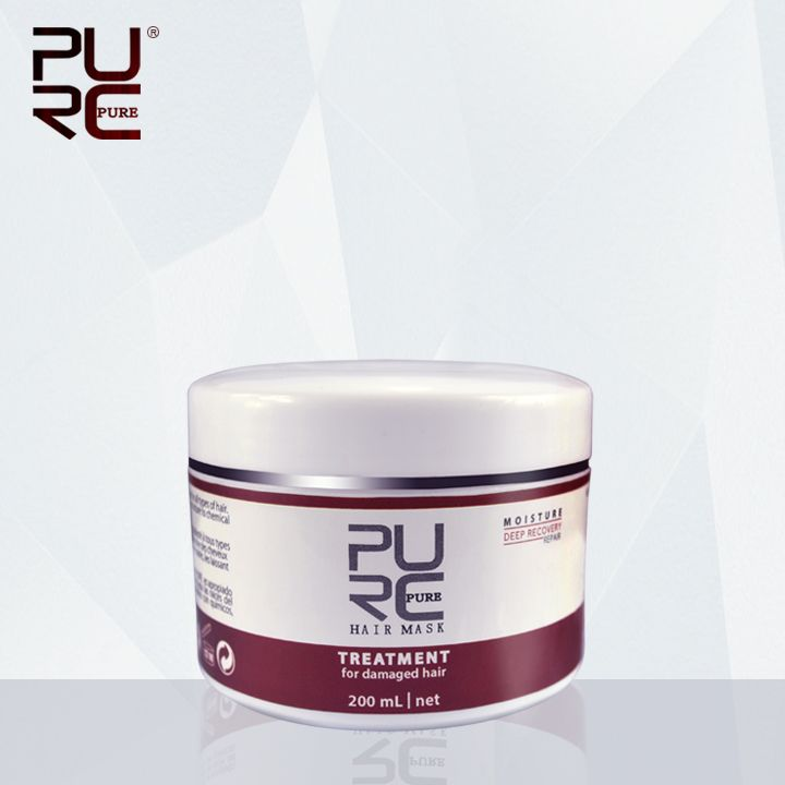 PURC Moisture Deep Recovery Hair Mask hot sale hair treatment 200ml repair damaged hair make hair smoothing and shine