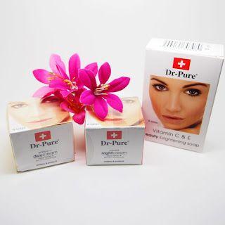 Cream Dr Pure Lengkap / Cream dr pure  Sabun