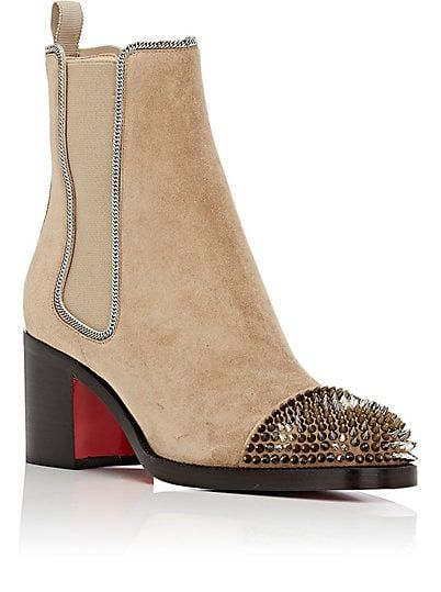 Christian Louboutin Otaboo Suede Chelsea Boots - Boots - 504615613