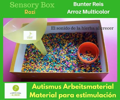 Por qué avanzamos con las cajas sensoriales: manipulando y aprendiendo :El sonido de la hierba al crecer