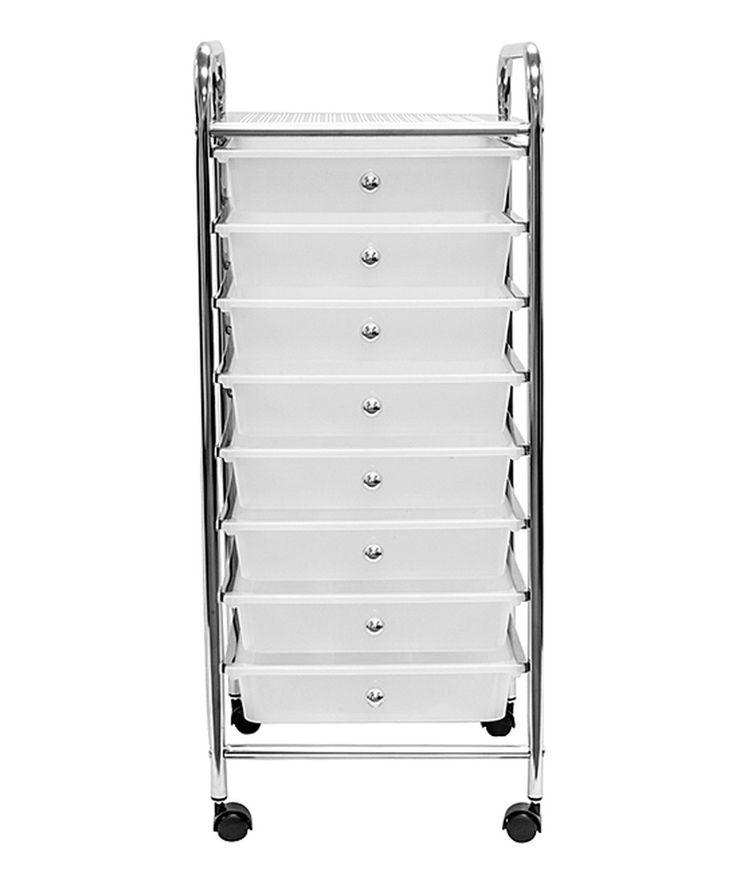 Look at this #zulilyfind! Eight-Drawer Rolling Storage Bin Cart by Sorbus #zulilyfinds