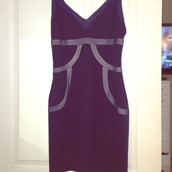 Piperlime Navy & Nude Cocktail Dress Size small. Piperlime collection. Worn once and dry cleaned. Nude lining. Fitted but stretchy. Amazingggg dress Piperlime Dresses