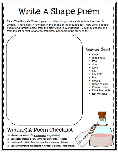 WRITING ACTIVITIES: DESCRIPTIVE, INFORMATIVE, PERSUASIVE, POETRY, NARRATIVE