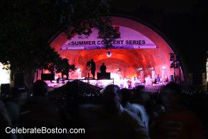 Hatch Shell Concerts, 103.3 WODS Free Summer Concert Series