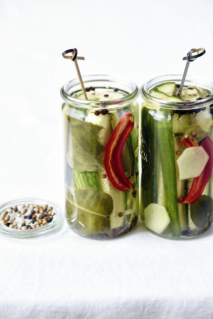 Opgelegde komkommer met oosterse toets - Libelle Lekker