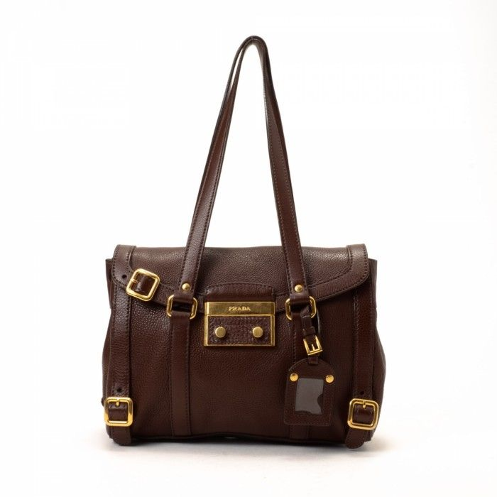 Prada #ShoulderBag / For $695 / Save 59% off retail price + Free Shipping