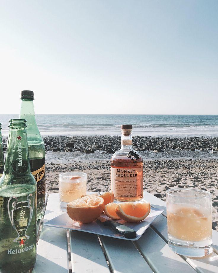 #MonkeyShoulder  #モンキーショルダー   #ウイスキー  #カクテル  #whisky   #beach   #northwales   #ビーチ