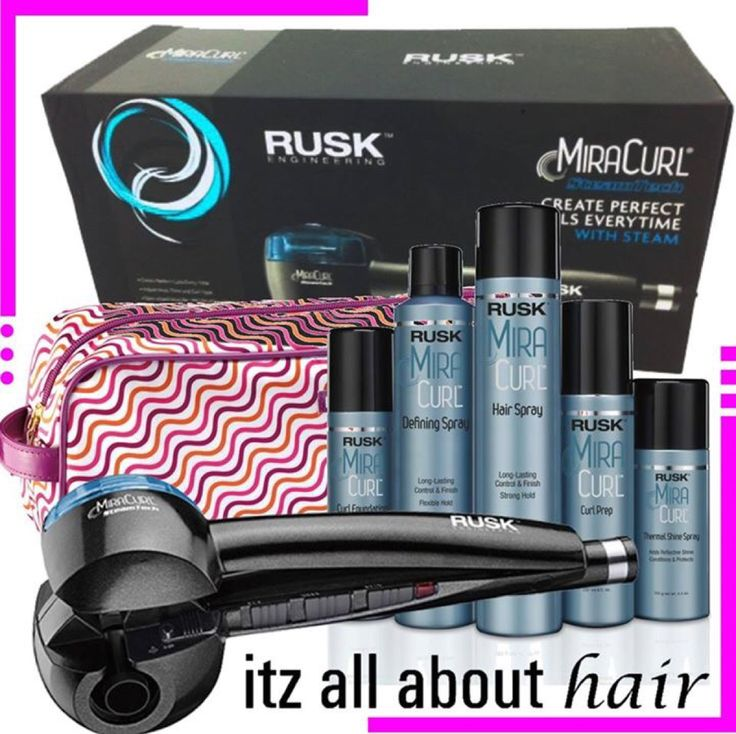 Rusk Miracurl plus bonus bag and 5 products  — Genuine Rusk Miracurl plus bonus bag and 5 products $139.95