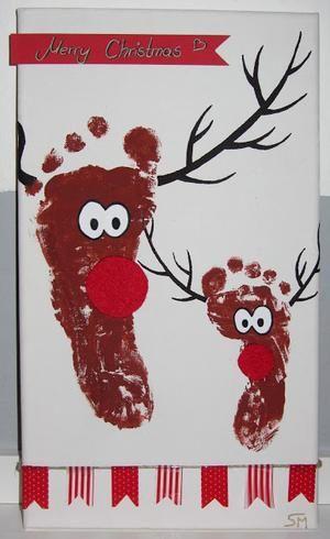 Sehe dir das Foto von HobbyKoechin mit dem Titel Weihnachtskarten mit den Kindern basteln und andere inspirierende Bilder auf Spaaz.de an.